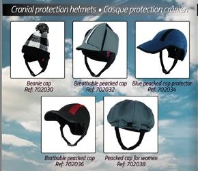 Protección Craneal GORRA SEMICERRADO Transpirable