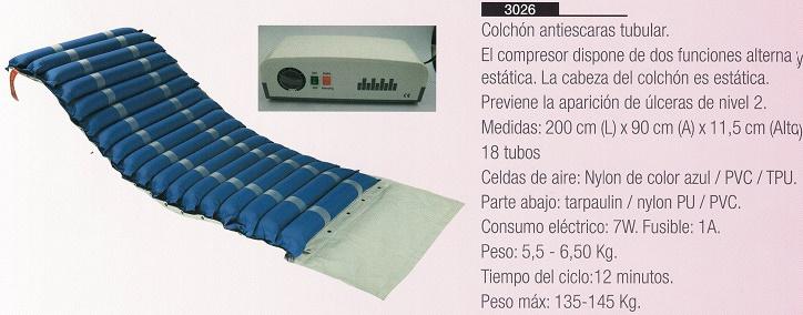 Colchón Antiescaras De Aire Tubular