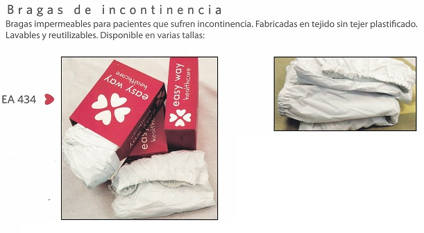 Bragas Impermeables Para Incontinencia