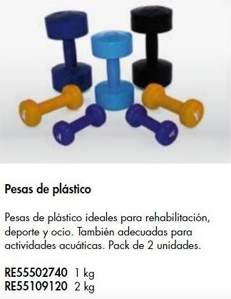 Pesas De Plástico