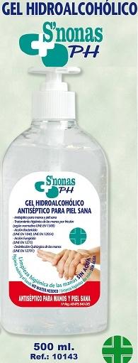 Gel Hidroalcohólico Antiséptico