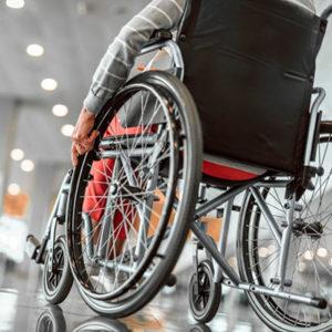 silla de ruedas acero y aluminio, transporte y movilidad